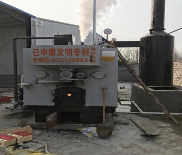 发往湖北宜昌0.5吨免检生物质蒸汽锅炉