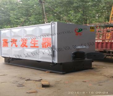 1吨节能环保免检蒸汽锅炉发往江西赣州