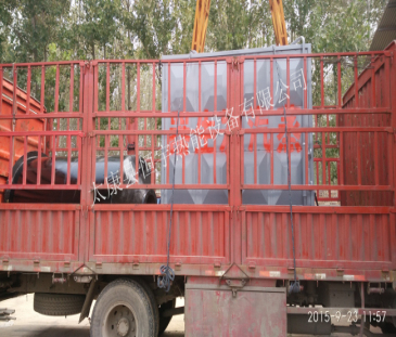 发往湖南免检1吨环保蒸汽锅炉案例
