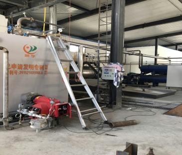 免检2吨沼气蒸汽锅炉发往吉林桦甸
