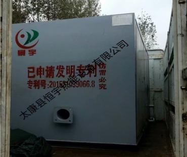 发往天津蒸发量0.5吨燃气蒸汽锅炉 食品厂用
