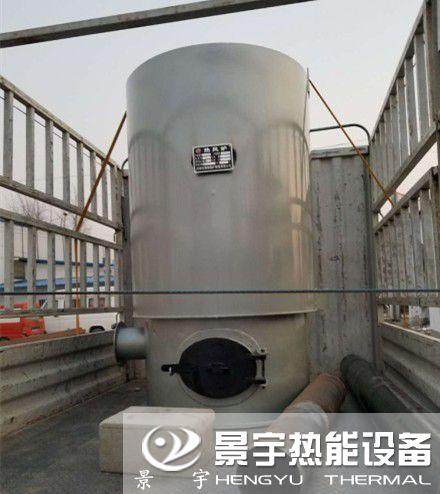 立式燃煤热风炉图片
