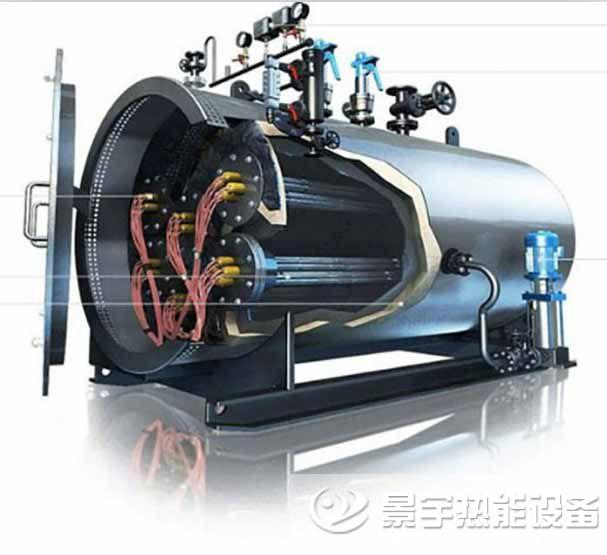 电加热蒸汽锅炉运行工作原理图
