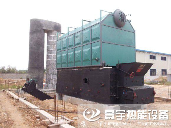 YLW卧式生物质导热油炉