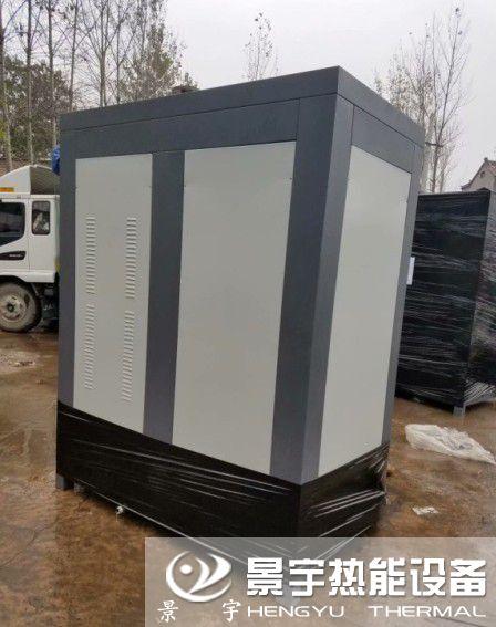 发往江苏连云港两台蒸发量0.5吨低氮燃气蒸汽锅炉
