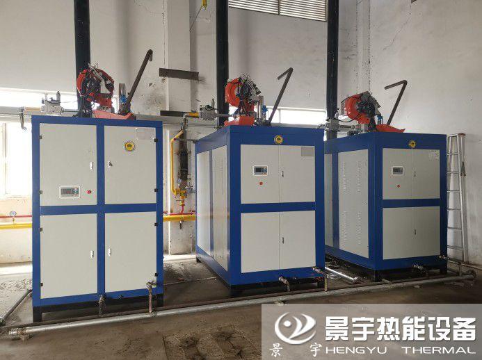 河南景宇热能设备有限公司3台1吨超低氮燃气蒸汽锅炉
