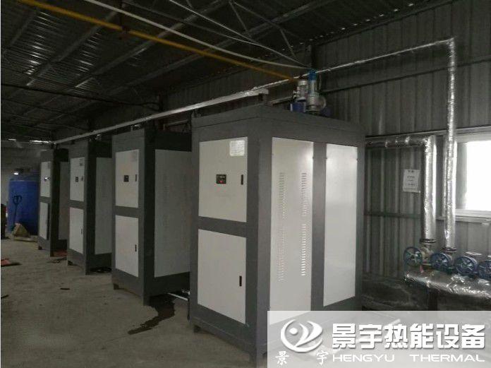 河南景宇超低氮燃气蒸汽锅炉案例图片