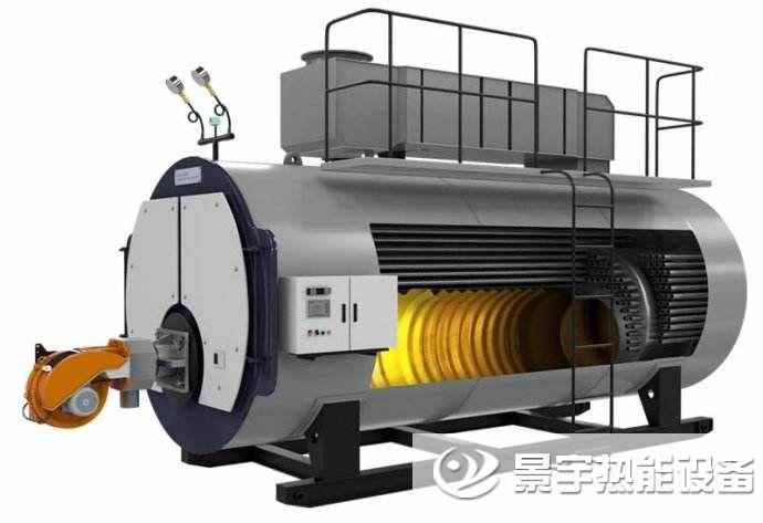 超低氮冷凝燃气锅炉运行原理图