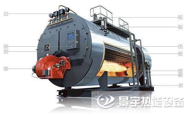 热水锅炉结构